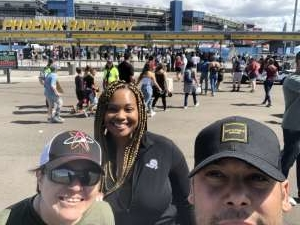Mack attended Fanshield 500 - NASCAR Cup Series on Mar 8th 2020 via VetTix