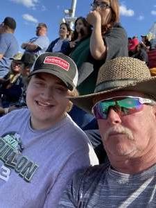 Mike Walker attended Fanshield 500 - NASCAR Cup Series on Mar 8th 2020 via VetTix