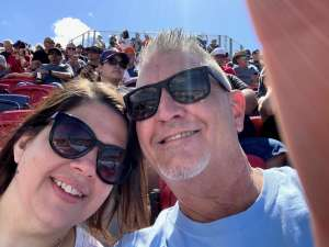Beth attended Fanshield 500 - NASCAR Cup Series on Mar 8th 2020 via VetTix