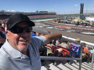 Don attended Fanshield 500 - NASCAR Cup Series on Mar 8th 2020 via VetTix