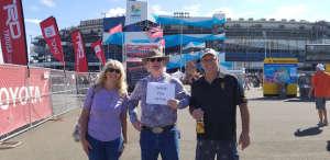 Rich attended Fanshield 500 - NASCAR Cup Series on Mar 8th 2020 via VetTix