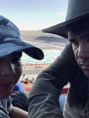 Jorge  attended Fanshield 500 - NASCAR Cup Series on Mar 8th 2020 via VetTix
