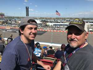 Clarence attended Fanshield 500 - NASCAR Cup Series on Mar 8th 2020 via VetTix
