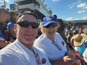 KH attended Fanshield 500 - NASCAR Cup Series on Mar 8th 2020 via VetTix