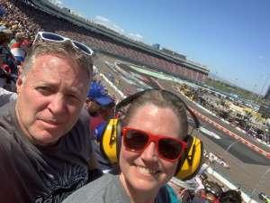 jeff & Erin attended Fanshield 500 - NASCAR Cup Series on Mar 8th 2020 via VetTix