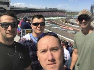 Steven  attended Fanshield 500 - NASCAR Cup Series on Mar 8th 2020 via VetTix