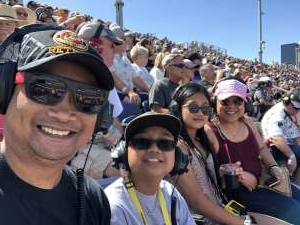 D Untalasco attended Fanshield 500 - NASCAR Cup Series on Mar 8th 2020 via VetTix