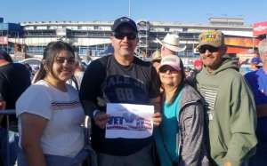 chris attended Fanshield 500 - NASCAR Cup Series on Mar 8th 2020 via VetTix