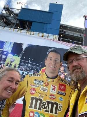 Roger & Deb attended Fanshield 500 - NASCAR Cup Series on Mar 8th 2020 via VetTix