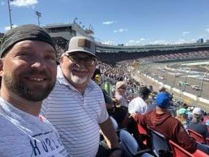 Dan attended Fanshield 500 - NASCAR Cup Series on Mar 8th 2020 via VetTix