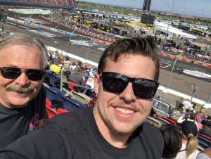 Michael Smith  attended Fanshield 500 - NASCAR Cup Series on Mar 8th 2020 via VetTix