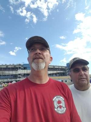 Burk attended Fanshield 500 - NASCAR Cup Series on Mar 8th 2020 via VetTix