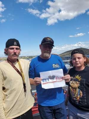 Art Holliman attended Fanshield 500 - NASCAR Cup Series on Mar 8th 2020 via VetTix