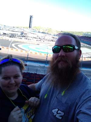 Mike W. attended Fanshield 500 - NASCAR Cup Series on Mar 8th 2020 via VetTix