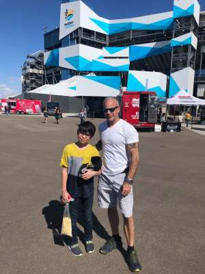 Fred attended Fanshield 500 - NASCAR Cup Series on Mar 8th 2020 via VetTix