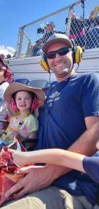 Jeff attended Fanshield 500 - NASCAR Cup Series on Mar 8th 2020 via VetTix
