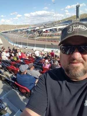 Doug attended Fanshield 500 - NASCAR Cup Series on Mar 8th 2020 via VetTix
