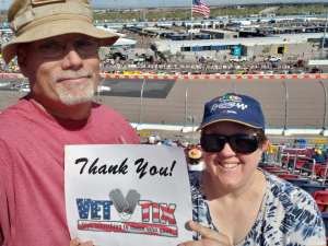 Sean   attended Fanshield 500 - NASCAR Cup Series on Mar 8th 2020 via VetTix