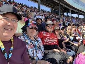 Roger attended Fanshield 500 - NASCAR Cup Series on Mar 8th 2020 via VetTix