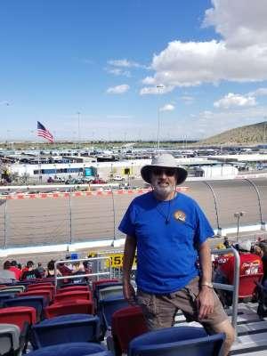 Joseph attended Fanshield 500 - NASCAR Cup Series on Mar 8th 2020 via VetTix