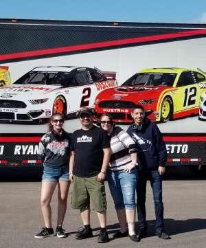 Frankie attended Fanshield 500 - NASCAR Cup Series on Mar 8th 2020 via VetTix