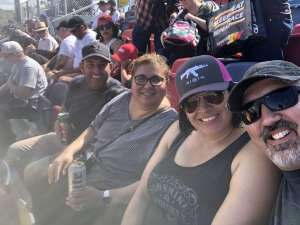 Brandon Da Silva attended Fanshield 500 - NASCAR Cup Series on Mar 8th 2020 via VetTix