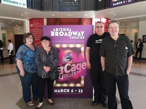 Eddie attended La Cage at Herberger Theater on Mar 14th 2020 via VetTix
