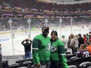 Abel attended Anaheim Ducks vs. Minnesota Wild - NHL on Mar 8th 2020 via VetTix