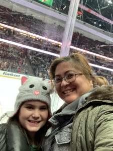 Blen attended Anaheim Ducks vs. Minnesota Wild - NHL on Mar 8th 2020 via VetTix