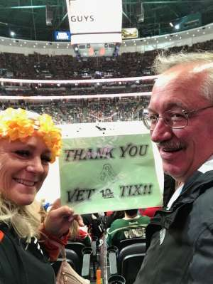Mark Brown attended Anaheim Ducks vs. Minnesota Wild - NHL on Mar 8th 2020 via VetTix