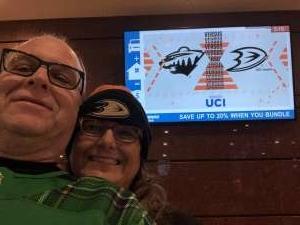 Scott attended Anaheim Ducks vs. Minnesota Wild - NHL on Mar 8th 2020 via VetTix