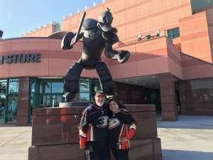 Frank attended Anaheim Ducks vs. Minnesota Wild - NHL on Mar 8th 2020 via VetTix
