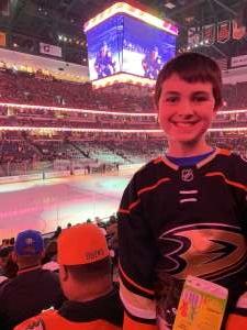 Jeff attended Anaheim Ducks vs. Minnesota Wild - NHL on Mar 8th 2020 via VetTix
