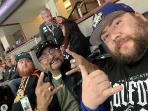 J. Santos attended Anaheim Ducks vs. Minnesota Wild - NHL on Mar 8th 2020 via VetTix