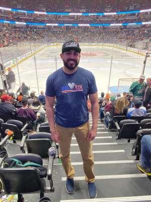 Corona attended Anaheim Ducks vs. Minnesota Wild - NHL on Mar 8th 2020 via VetTix