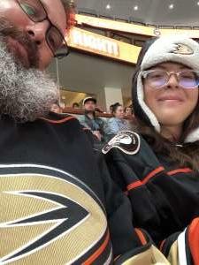 The Lawler's attended Anaheim Ducks vs. Minnesota Wild - NHL on Mar 8th 2020 via VetTix