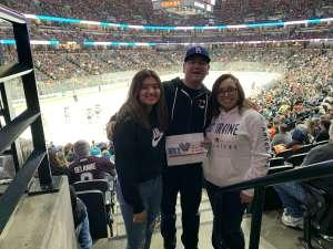 Michael  attended Anaheim Ducks vs. Minnesota Wild - NHL on Mar 8th 2020 via VetTix