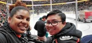 Keya M. attended Anaheim Ducks vs. Minnesota Wild - NHL on Mar 8th 2020 via VetTix