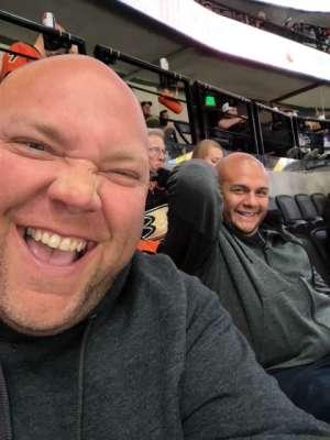 Chad attended Anaheim Ducks vs. Minnesota Wild - NHL on Mar 8th 2020 via VetTix