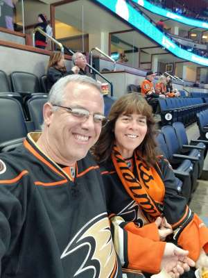 Gary attended Anaheim Ducks vs. Minnesota Wild - NHL on Mar 8th 2020 via VetTix