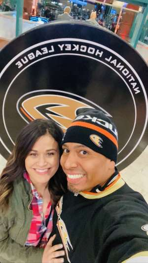 Tony  attended Anaheim Ducks vs. Minnesota Wild - NHL on Mar 8th 2020 via VetTix