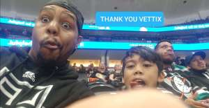 Lance attended Anaheim Ducks vs. Minnesota Wild - NHL on Mar 8th 2020 via VetTix