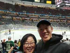 Peter attended Anaheim Ducks vs. Minnesota Wild - NHL on Mar 8th 2020 via VetTix
