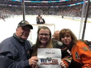 Stephen Cosman attended Anaheim Ducks vs. Minnesota Wild - NHL on Mar 8th 2020 via VetTix