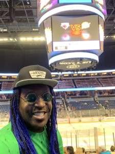 Xavier  attended Orlando Solar Bears vs. South Carolina Stingrays - ECHL on Mar 11th 2020 via VetTix
