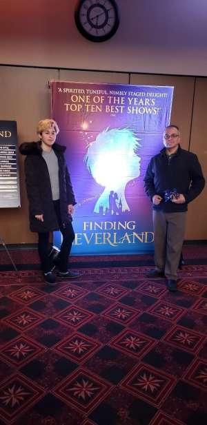 Jose attended Finding Neverland on Mar 12th 2020 via VetTix