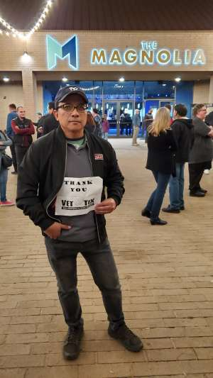 Rnold attended Dennis DeYoung on Mar 7th 2020 via VetTix