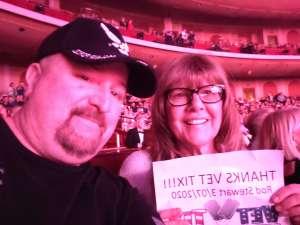 Phenomenal Show attended Rod Stewart: the Hits. on Mar 7th 2020 via VetTix