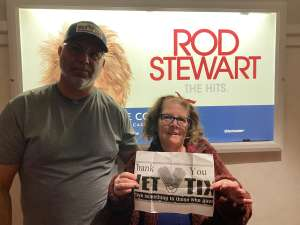 RayP attended Rod Stewart: the Hits. on Mar 7th 2020 via VetTix