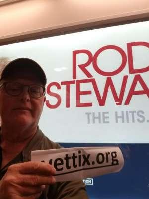 Mike K attended Rod Stewart: the Hits. on Mar 7th 2020 via VetTix